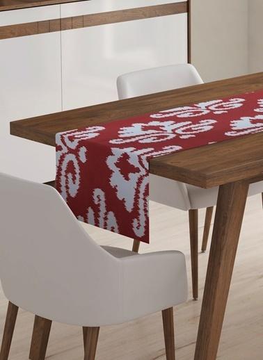 Lyn Home & Decor Runner Kırmızı İkat   Renkli